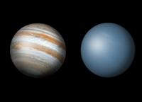 Aspect of Jupiter and Uranus