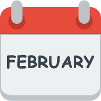 Month february