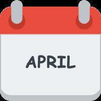 Month april