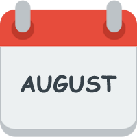 Month august