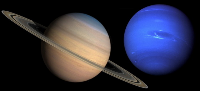 Aspect of Saturn and Neptune