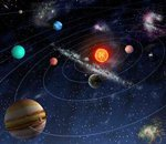 The current position of the planets