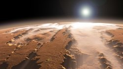 According to scientists, before on Mars was a large ocean